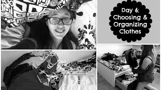 7 Day College Countdown #2: Day 6: Choosing & Organizing Clothes Thumbnail