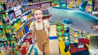 Ілля обирає нові іграшки і чому ми не пішли до тигрів в клітку?