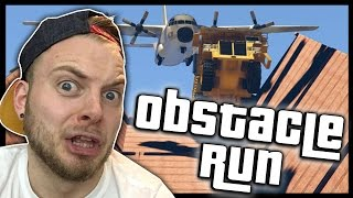 One of SquiddyPlays's most viewed videos: SquiddyPlays - GTA V RACES! - OBSTACLE RUN!