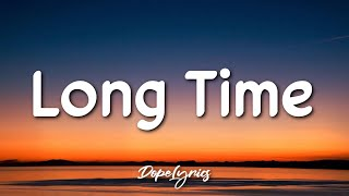 Cover images Tray Haggerty - Long Time (Lyrics) feat. Jeleel!