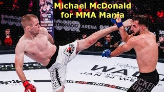 Michael McDonald Interview Before Eduardo Dantas at Bellator 202