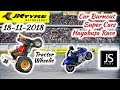 JK Tyre Event 2018 || JS Films on Track 🔥 || Tractor Wheelie || Car Burnout