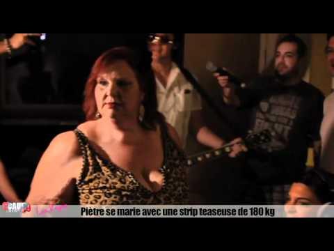 Piètre se marie avec une stripteaseuse de 180 kg - C'Cauet sur NRJ