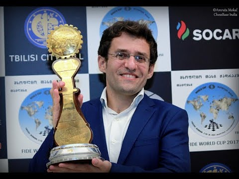 Levon Aronian becomes the first person in the history of chess to win World Cup twice