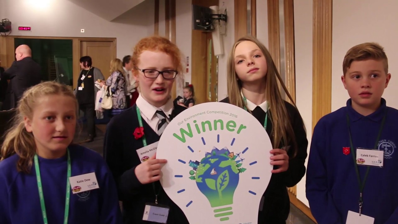 Our Environment Competition awards ceremony