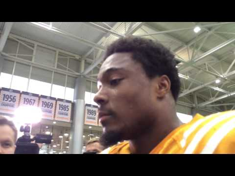 Tennessee safety Evan Berry discusses his development
