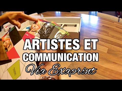 Artistes Comment Crer Des Supports De Communication Avec Exaprint