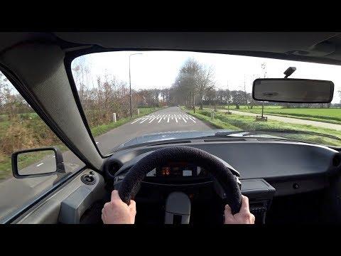 Driving The 1985 Citroen CX POV