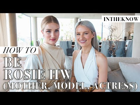 How To Balance Motherhood, Hollywood And Business Successfully | With Rosie Huntington-Whiteley
