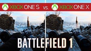 Battlefield 1 Comparison - Xbox One S vs. Xbox One X