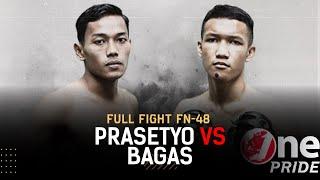 Flyweight Ranking Fight: Prasetyo Budi vs Bagas Trianto | Full Fight One Pride MMA FN 48