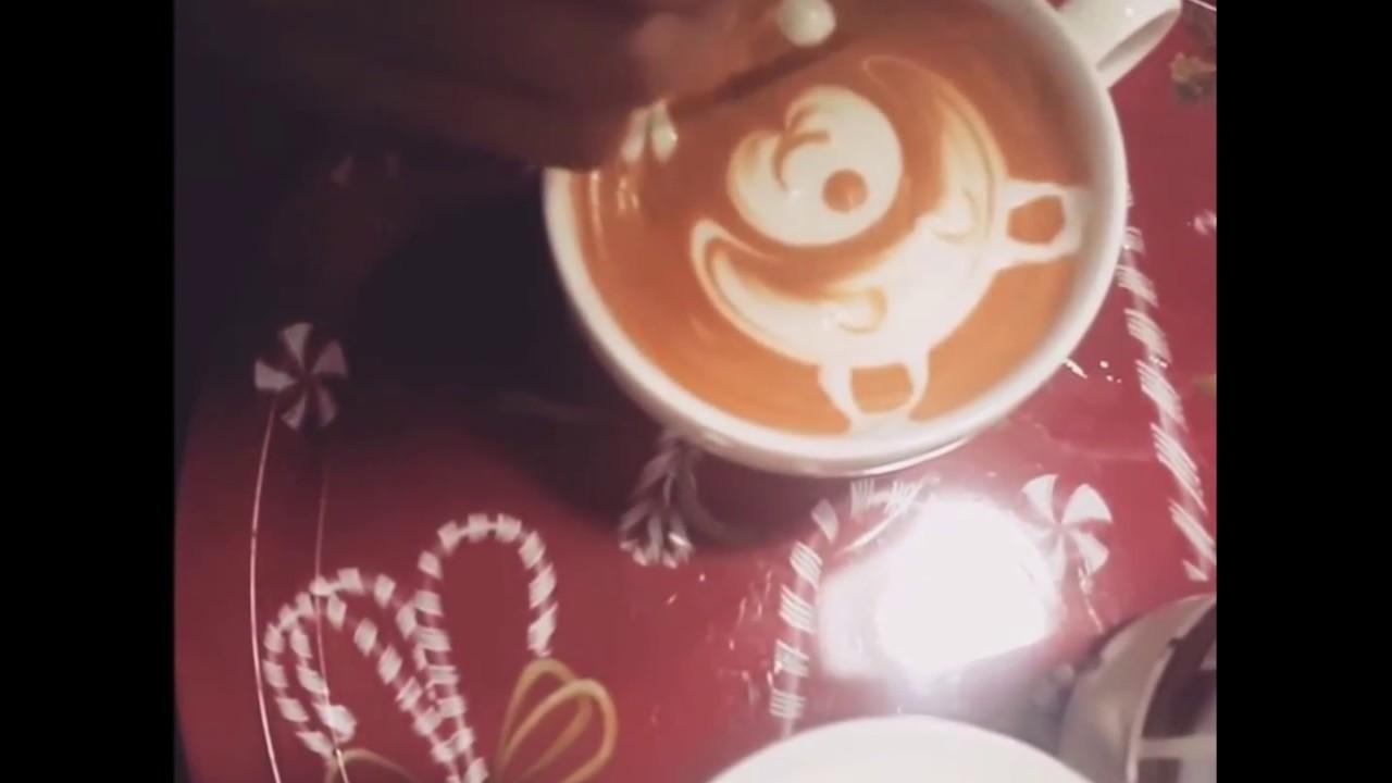 [AT24h] Học pha chế cà phê - Nghệ thuật vẽ latte
