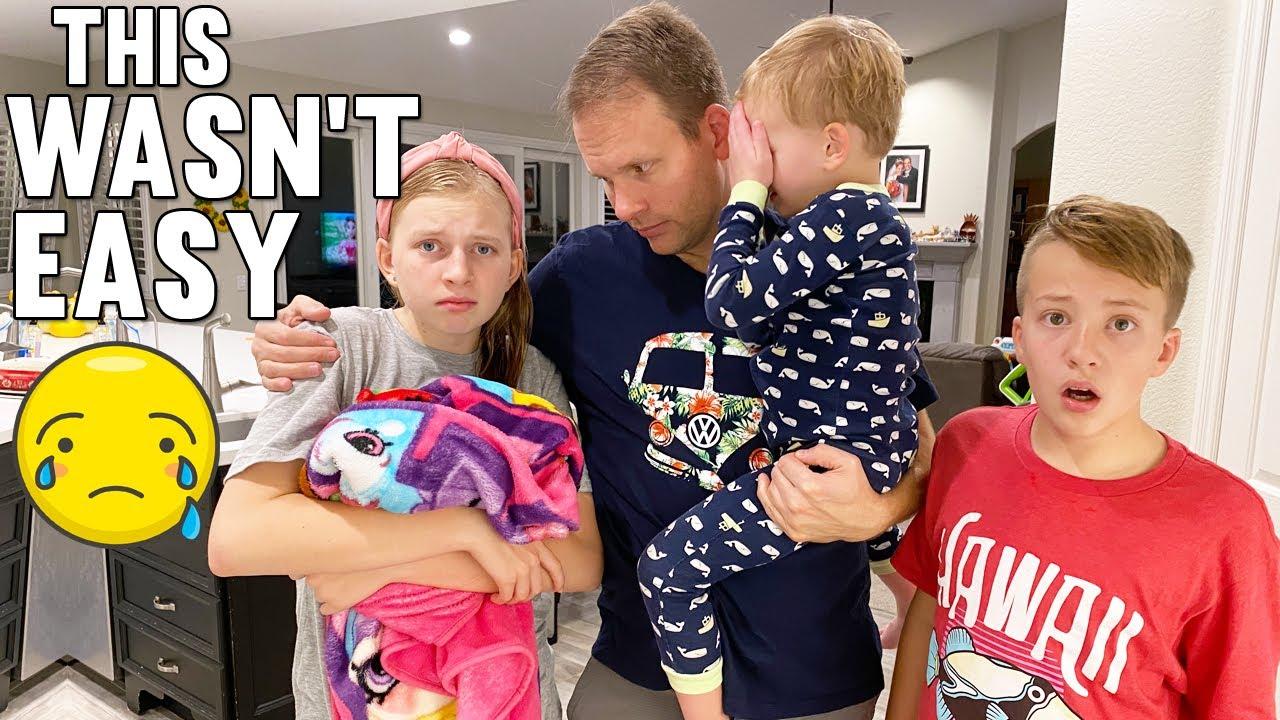 The Sad Goodbye    Mommy Monday