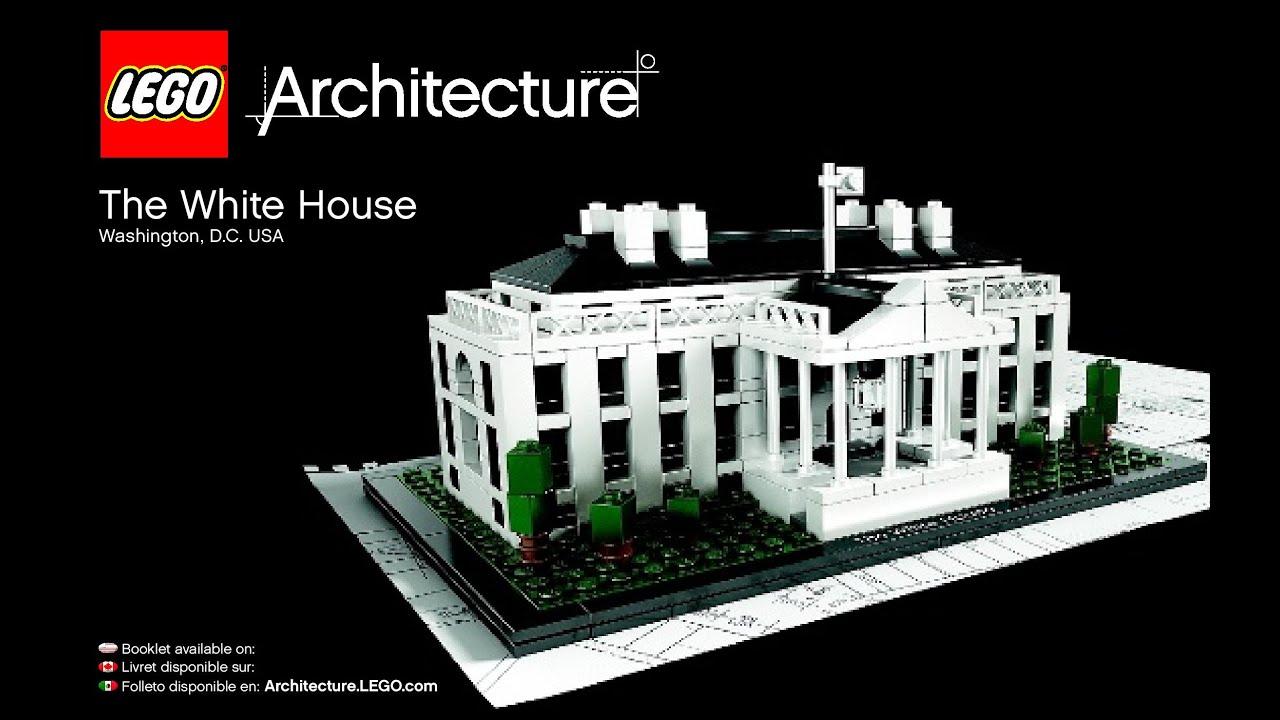 Lego Architecture White House 21006: LEGO Architecture White House 21006 Instructions DIY