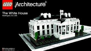 LEGO Architecture White House 21006 Instructions DIY