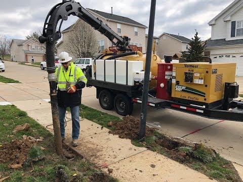 Vac Tron's New Hydraulic Boom Design For Vacuum Excavation Equipment