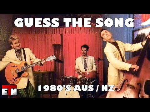 ETN Music Quiz - 80's AUS & NZ Artists