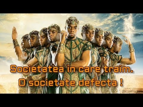 03.  Societatea in care traim.  O societate defecta !