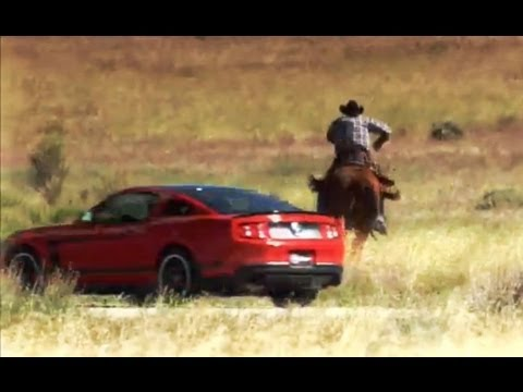 Muscle Cars Vs Cowboys Pony Express Race Top Gear Usa Series