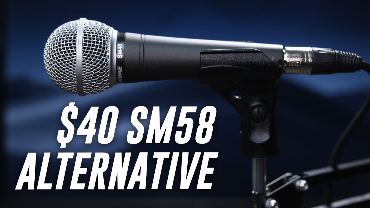 shure sm48 dynamic mic review test youtube. Black Bedroom Furniture Sets. Home Design Ideas