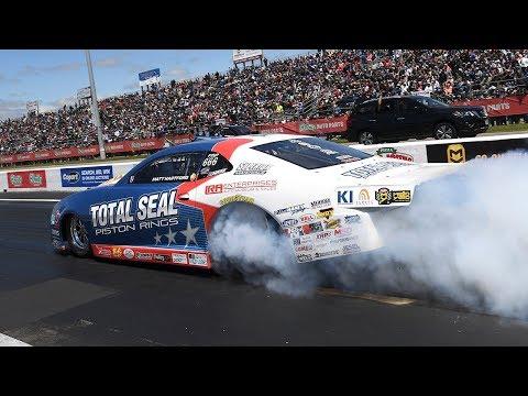 Matt Hartford races to his FIRST career Pro Stock win