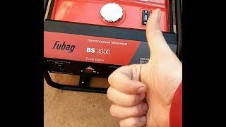 видео Fubag - бензиновый трехфазный генератор