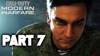MODERN WARFARE Walkthrough Gameplay Part 7 - Campaign Mission 7 FULL GAME (Call of Duty 2019)