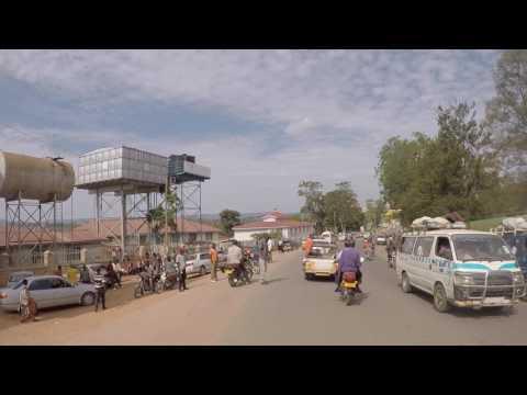 Ouganda Masaka Centre ville, Gopro / Uganda Masaka Downtown, Gopro