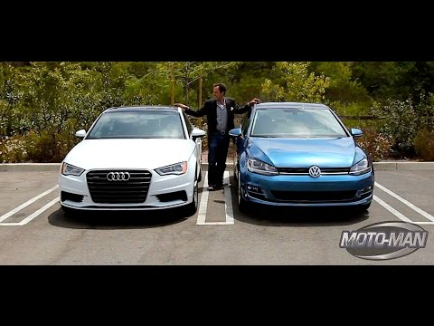 2015 Audi A3 2.0 Turbo vs 2015 VW Golf GTI – A Tale of One Platform & Two Cars