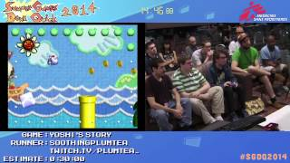 Summer Games Done Quick 2014 - Part 113 - Yoshi's Story