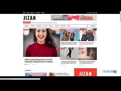 Jizan A Newspaper and Magazine WordPress Theme        Shá&#324