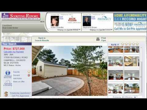 San Jose Homes For Sale – 17930 Bucknall Road