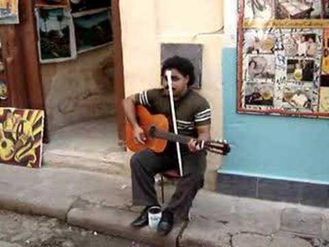 Blind Cuban Artist