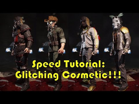 Killing Floor 2 How To Glitch Character Cosmetic Tutorial In 5 Minutes Youtube