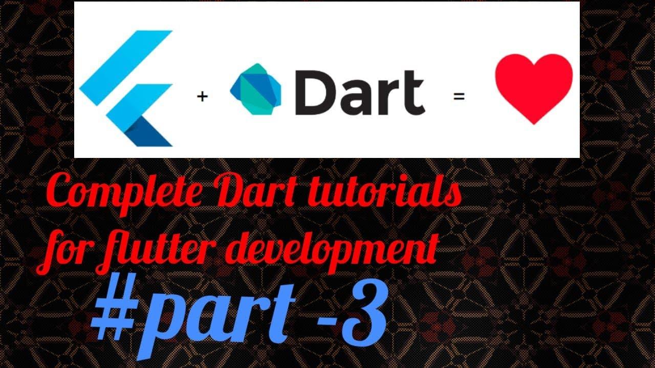 Lists in Dart || Dart For Flutter Programming language tutorials 2021