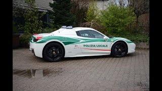 Una Ferrari alla Polizia Municipale