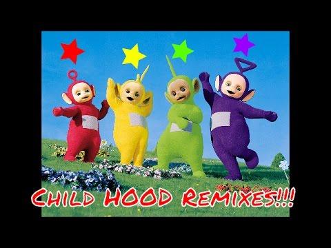 Teletubbies Jersey Club Remix | CHILD HOOD REMIXES #7