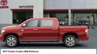 2019 Toyota Tundra 4WD Platinum Maplewood, St Paul, Minneapolis, Brooklyn Park, MN K12919