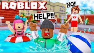 Roblox | Stadtplan Si'u Kha | Flucht Schwimmbad Obby | DH Survival