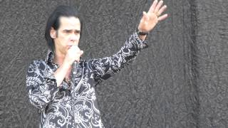 Nick Cave & The Bad Seeds - Push The Sky Away Rock Werchter 2013 HD