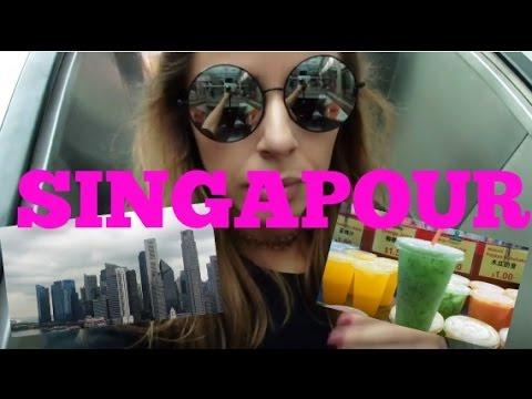 SINGAPOUR BABY ! ★ Mustafa Center, Chinatown & Bugis Street...  Les vlogueuses en carton!  Yas & Nab