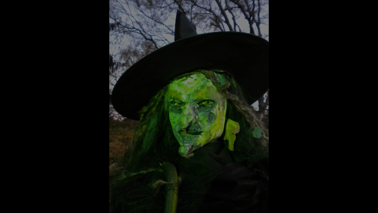 easy how to make a halloween witch youtube - Halloween Which