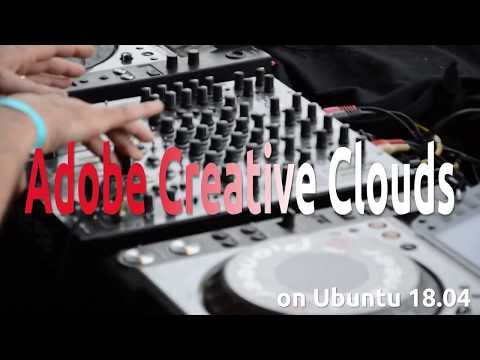 How To Install Adobe Creative Clouds On Ubuntu 18.04