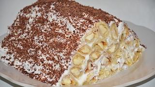 Блинный торт с бананом! ОБАЛДЕННЫЙ / МАСЛЕНИЦА!