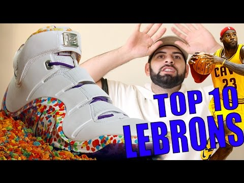 Top 10 Best LeBrons of All Time!!