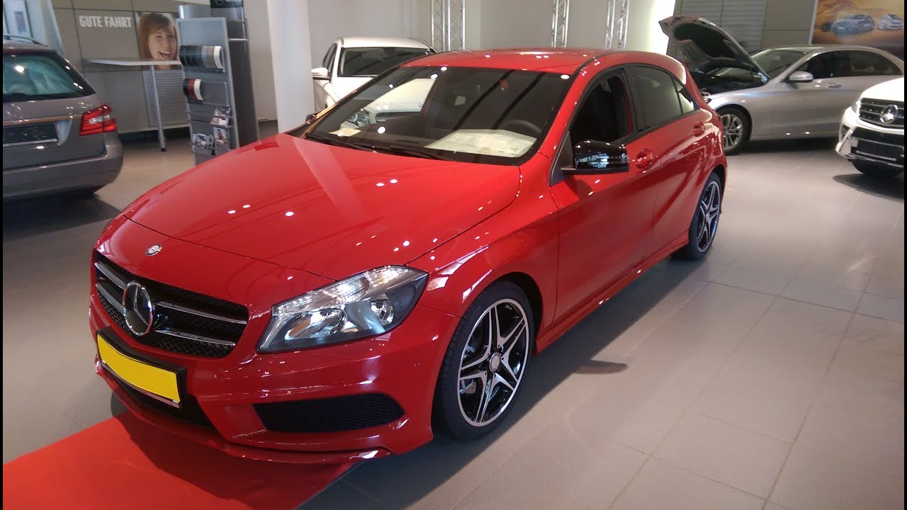 2014 mercedes a 180 be amg youtube. Black Bedroom Furniture Sets. Home Design Ideas