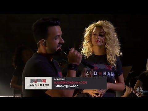 Tori Kelly & Luis Fonsi - Hallelujah | Hand In Hand Benefit 2017