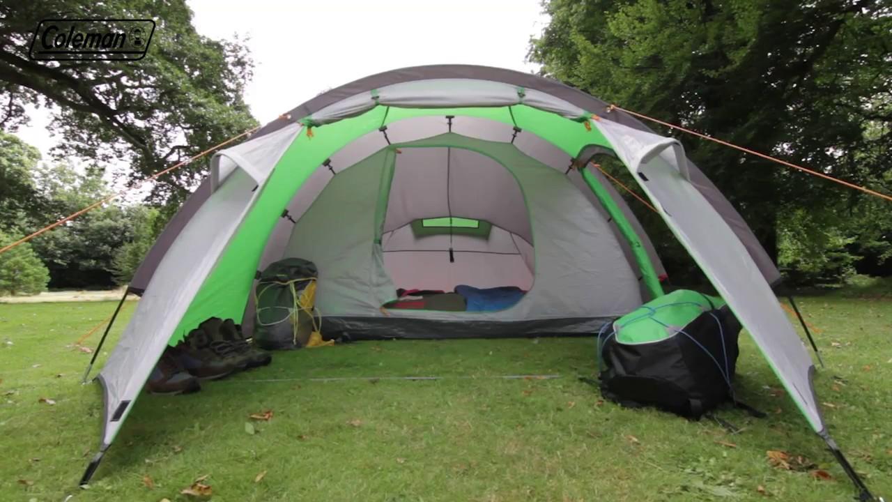 Coleman® Cortes 4 Family Tent - EN & Coleman® Cortes 4 Family Tent - EN - YouTube