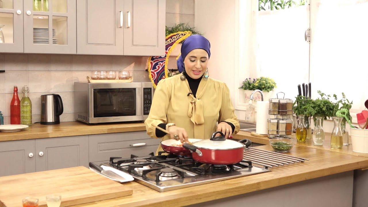 صحي في رمضان مع سمر حمدي - سمك سنجارى والارز الايرانى ولبن رايب بالفواكة (الجزء الأول)