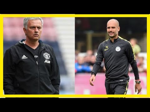 US Newspapers - Pep personally calls mourinho to enquire about man utd star